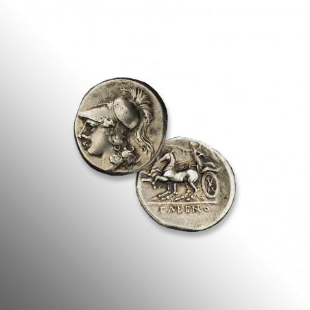 Magna Grecia | Didramma di Cales, 268 a.C.